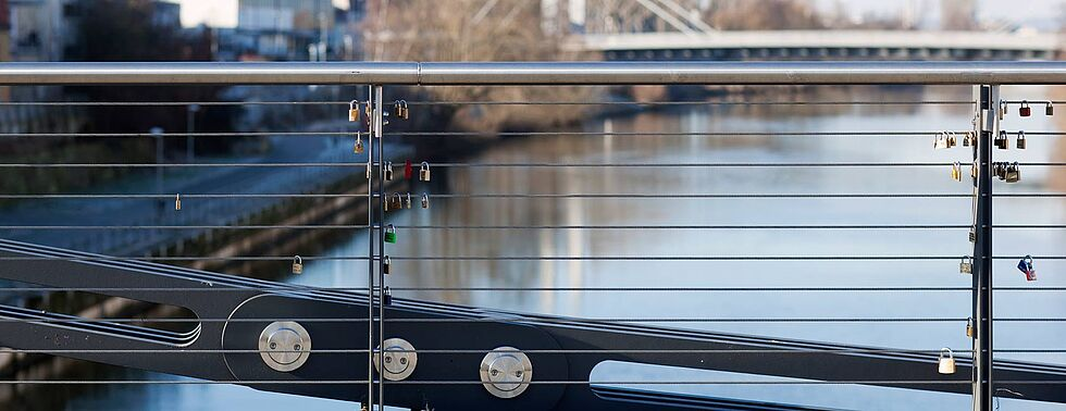 bridge railings I-SYS stainless steel wire rope system