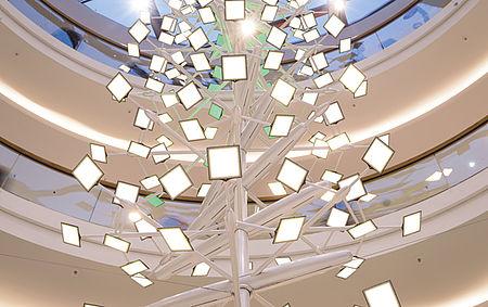 Lichtskulpturen LED Lichtdesign Individuelle Lösungen Carl Stahl Architektur