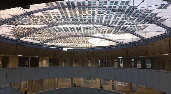 Organische Photovoltaic OPV Carl Stahl Architektur Seilsysteme