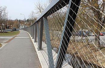 Autobrücken X-TEND Edelstahl-Seilnetz