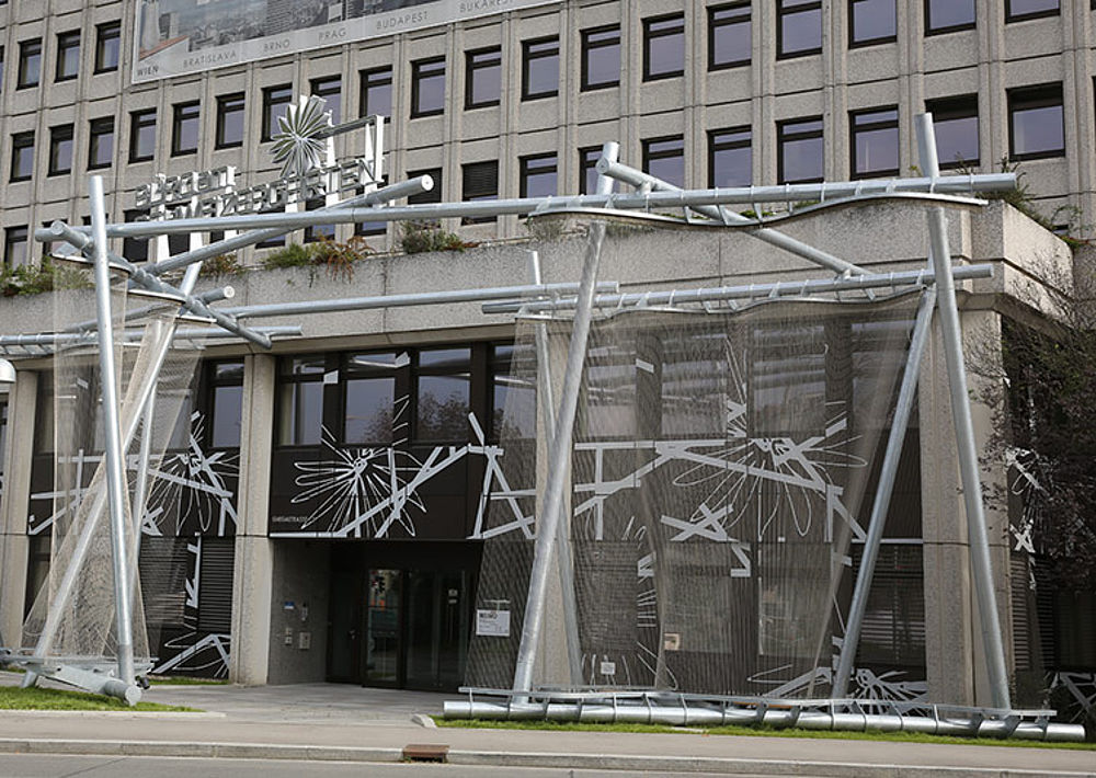 Wire rope sculptures