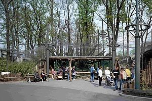 Burger's Zoo Arnheim X-TEND Edelstahl-Seilnetz