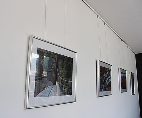 Innenraumgestaltung Abhängung Edelstahl-Seilsysteme POSILOCK