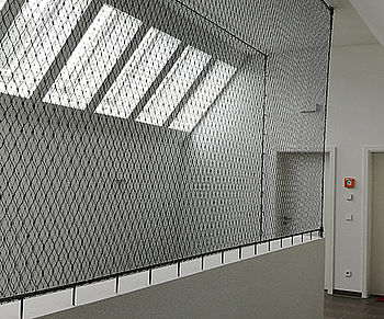vertical safety X-TEND stainless steel cable mesh
