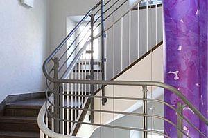 Stuttgart Klinikum Design mit I-SYS Edelstahl-Seilsystemen