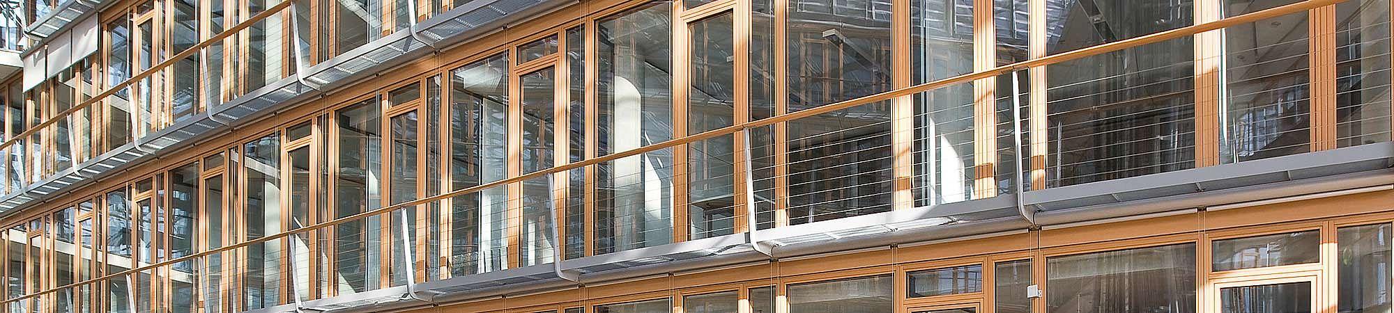 I-SYS Edelstahl-Seilsysteme Geländerfüllungen