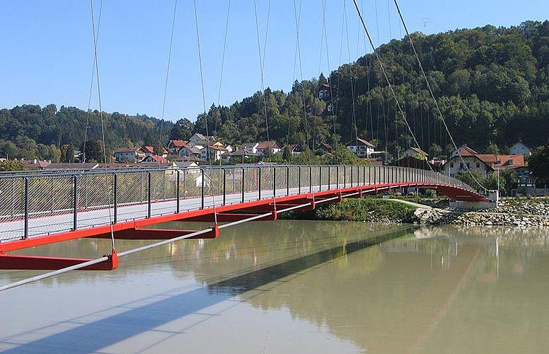 Hängebrücke X-TEND Edelstahl-Seilnetz