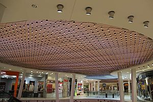 Milaneo Shopping Center Stuttgart X-LED Lichtdesign