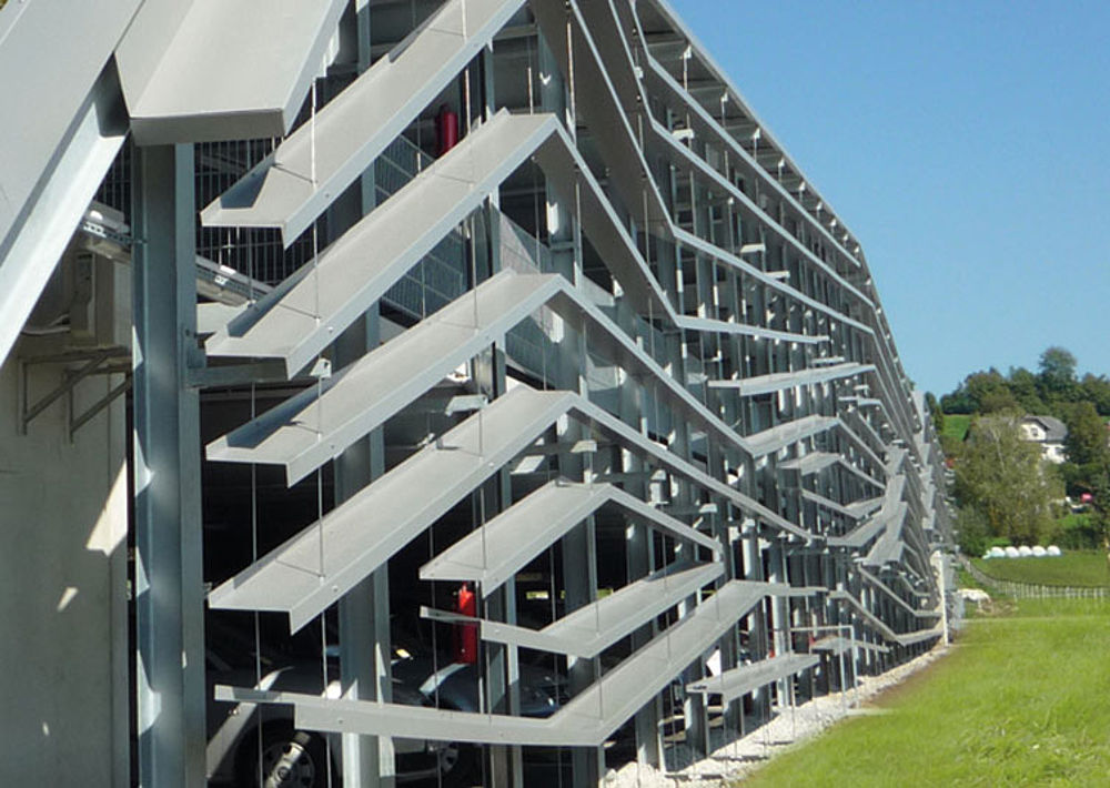 Mounted façades I-SYS stainless steel wire rope system