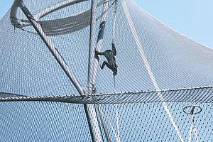 Wilhelma Bonobo-Anlage X-TEND Edelstahlseilnetz
