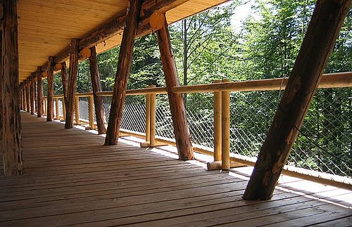 wooden bridges