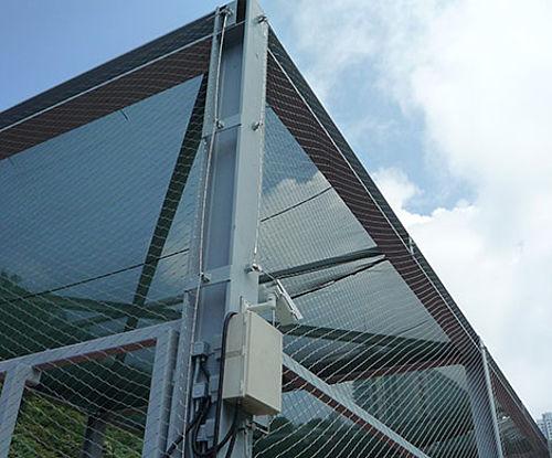Drohnenschutz X-TEND Edelstahl-Seilnetz Schutznetze