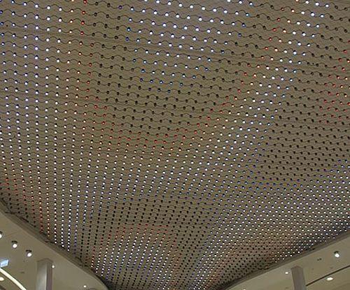 LED Module Sicherheitsnetz Designelemente Lichtdecke