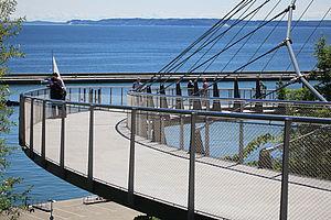 Brücke Edelstahl-Seilnetz X-TEND