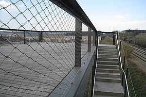 Absturzsicherung X-TEND Edelstahl-Seilnetze