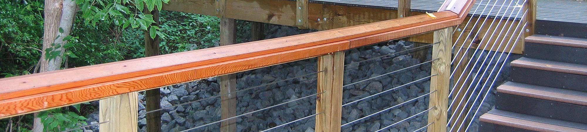 Geländer I-SYS Edelstahl-Seilsystem