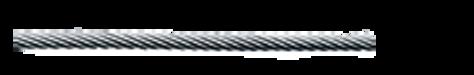 Spiralseil 1x37 Carl Stahl Architektur Edelstahl