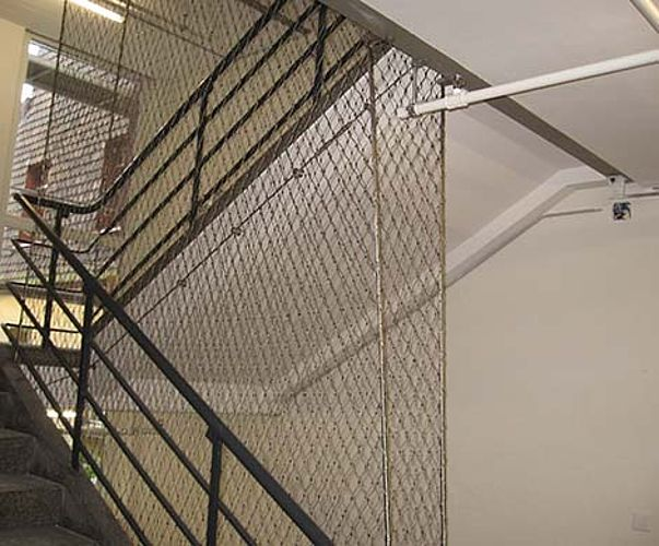 Net stockings staircase