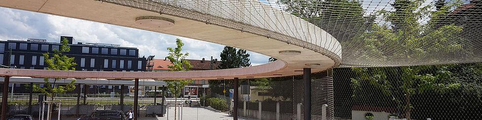 Schutznetze Edelstahl-Seilnetz X-TEND