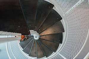 X-TEND Colours weißes Netz Treppengeländer Brüstungsgeländer