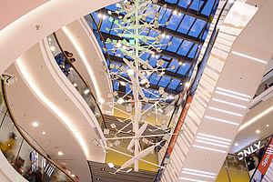 LED Lichtdesign Lichtskulptur Carl Stahl Architektur