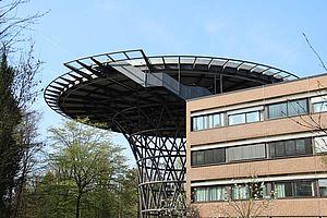 Hubschrauberlandeplatz Klinikum X-TEND Edelstahl-Seilnetz