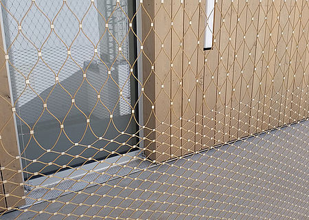 X-TEND Colours Façade design stainless steel cable mesh X-TEND