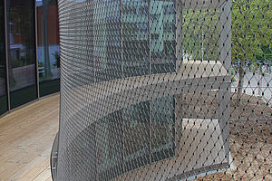 X-TEND Façade mesh width 40mm cable diameter2mm