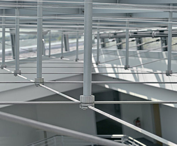 I-SYS wire rope system suspension systems