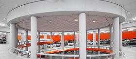 X-TEND Edelstahl-Seilnetz Parkhaus Lammermarkt Amsterdam Sicherung