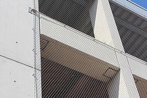 Parkhaus Fassade X-TEND Netz