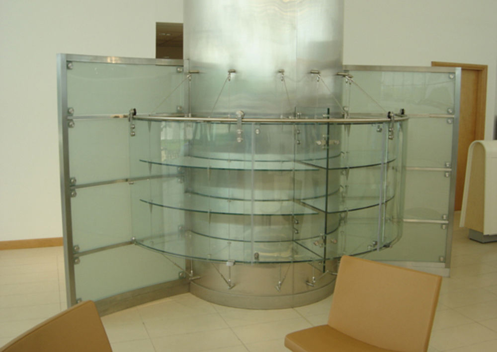 Shelf construction POSILOCK Suspension system