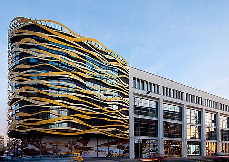 Vorgehängte Fassaden I-SYS Edelstahlseil-System