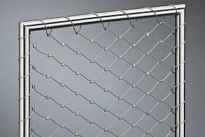 X-TEND Mesh width 40mm 1.5mm cable diameter