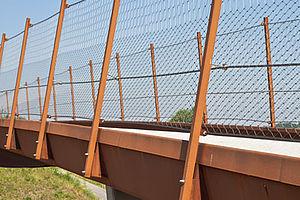 Brücke X-TEND Edelstahl-Seilnetz
