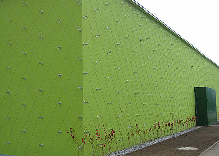 stainless steel wire ropes trellis I-SYS