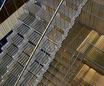 Suspensions staircases Stainless steel wire rope system I-SYS
