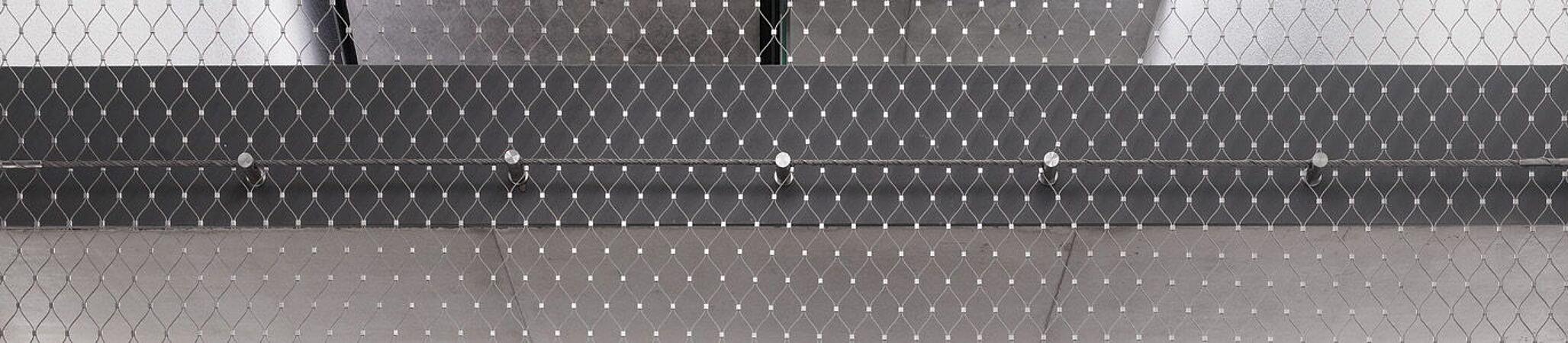 Vertikale Absturzsicherung Netz