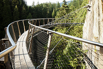 tree top walk X-TEND stainless steel cable mesh
