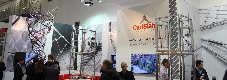 Bau 2019 in München Besuchen Sie uns Carl Stahl Architektur