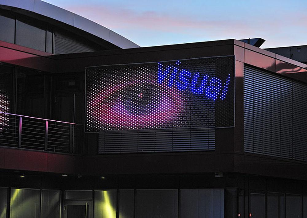 X-LED Medienfassade LED Module Werbefläche Fassadengestaltung