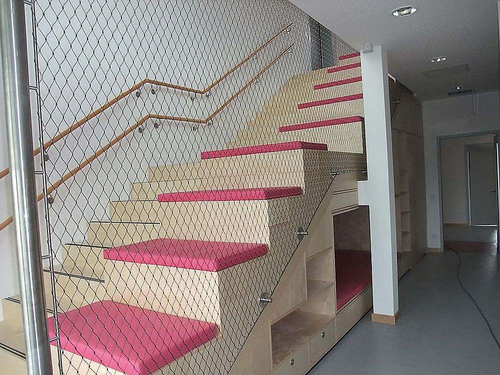 Treppenfahne Treppensicherung X-TEND Netz
