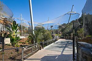 Africa Rocks Zoo Gehege San Diego X-TEND Edelstahl-Seilnetz