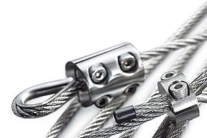 Loops stainless steel wire ropes