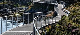 Geländerfüllung Aussichtspunkte X-TEND Edelstahlseilnetz