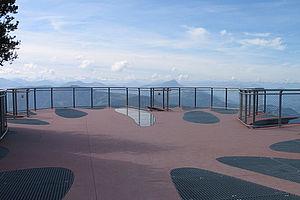 Aussichtsplattform Geländerfüllung X-TEND