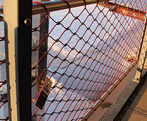 X-TEND Colours Geländerdesign farbige Netze