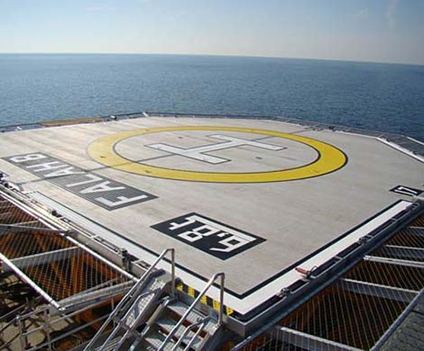Helipad X-TEND Stainless steel cable mesh