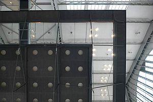 Horizontale Absturzsicherung X-TEND Edelstahl-Seilnetz