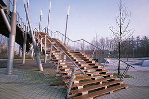 I-SYS Edelstahl-Seil-System Geländerfüllung Brücke